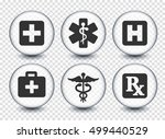 health care and medicine on... | Shutterstock .eps vector #499440529