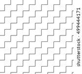 wavy  zigzag parallel lines... | Shutterstock .eps vector #499444171