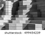 black and white background | Shutterstock . vector #499454239
