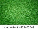 green grass background turf... | Shutterstock . vector #499459369