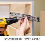 assembling furniture from... | Shutterstock . vector #499463464