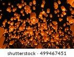 sky lantern in lantern festival ... | Shutterstock . vector #499467451