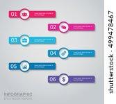 vector infographics template   Shutterstock .eps vector #499478467