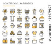 Spa Elements   Thin Line And...