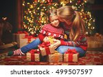 happy family mother and child... | Shutterstock . vector #499507597