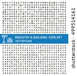 industry and building icon set... | Shutterstock .eps vector #499514161