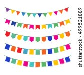 Colorful Pennant Bunting...