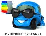 fun car   3d illustration | Shutterstock . vector #499532875
