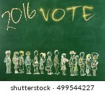 election day | Shutterstock . vector #499544227