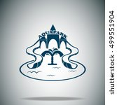aquapark vector icon