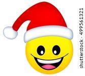 cute smiley emoticons face...   Shutterstock .eps vector #499561321