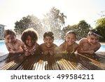 Portrait Of Children Having Fu...