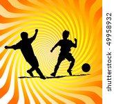 football | Shutterstock . vector #49958932
