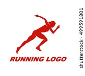 running logo | Shutterstock .eps vector #499591801
