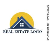 real estate logo | Shutterstock .eps vector #499602601