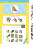 icon set art vector | Shutterstock .eps vector #499608127