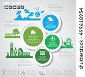 nature  infographics design... | Shutterstock .eps vector #499618954