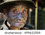 longwa  nagaland india  ... | Shutterstock . vector #499622509