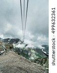 Small photo of Cableway in Pic du Midi de Bigorre, Hautes Pyrenees, France