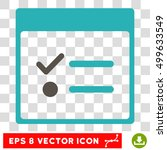 vector todo items calendar page ...