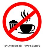 prohibition sign icon. no... | Shutterstock .eps vector #499636891
