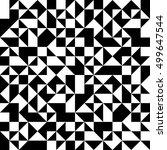 vector modern abstract geometry ... | Shutterstock .eps vector #499647544