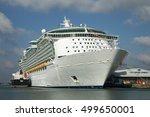 city cruise terminal... | Shutterstock . vector #499650001