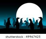 vector background with penguins ...   Shutterstock .eps vector #49967425