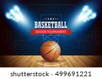 basketball tournament  modern... | Shutterstock .eps vector #499691221