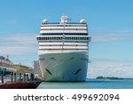 venice. sea passenger port. | Shutterstock . vector #499692094