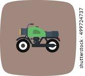 vector bike icon | Shutterstock .eps vector #499724737
