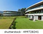 architecture  modern luxurious... | Shutterstock . vector #499728241