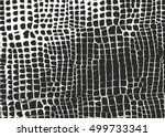 distressed overlay texture of... | Shutterstock .eps vector #499733341