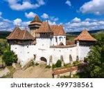viscri saxon church in the...   Shutterstock . vector #499738561