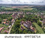 the saxon village of viscri in... | Shutterstock . vector #499738714
