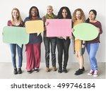girls friendship togetherness... | Shutterstock . vector #499746184