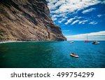Ocean And Cliffs At Playa De...