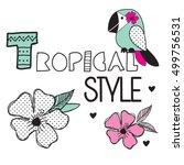 Tropical Bird Cartoon ...