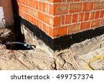waterproofing foundation... | Shutterstock . vector #499757374