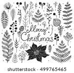 collection decorations elements ... | Shutterstock .eps vector #499765465