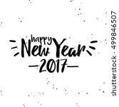 happy new year | Shutterstock .eps vector #499846507