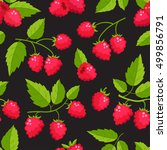 vector seamless pattern with...   Shutterstock .eps vector #499856791
