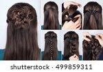 Hairstyle Braided Rose Tutoria...