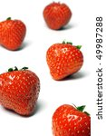 excellent brightly red... | Shutterstock . vector #49987288