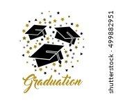 congratulations grad... | Shutterstock .eps vector #499882951