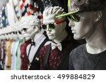 mannequins in the department of ... | Shutterstock . vector #499884829