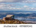 mount wellington lookout... | Shutterstock . vector #499889341