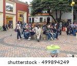 bogota  colombia   april 29 ... | Shutterstock . vector #499894249