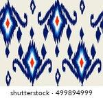 beautiful geometric ethnic... | Shutterstock .eps vector #499894999