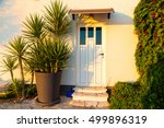 exotic home exterior detail at... | Shutterstock . vector #499896319